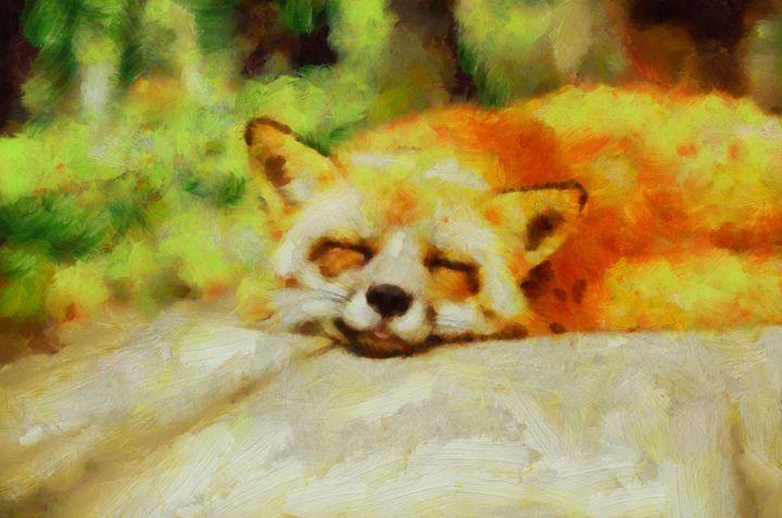 Summer Fox by Pierre Blanchard - Esoterica Art Agency