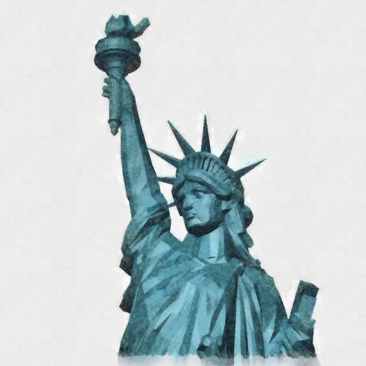 Liberty by Pierre Blanchard - Esoterica Art Agency