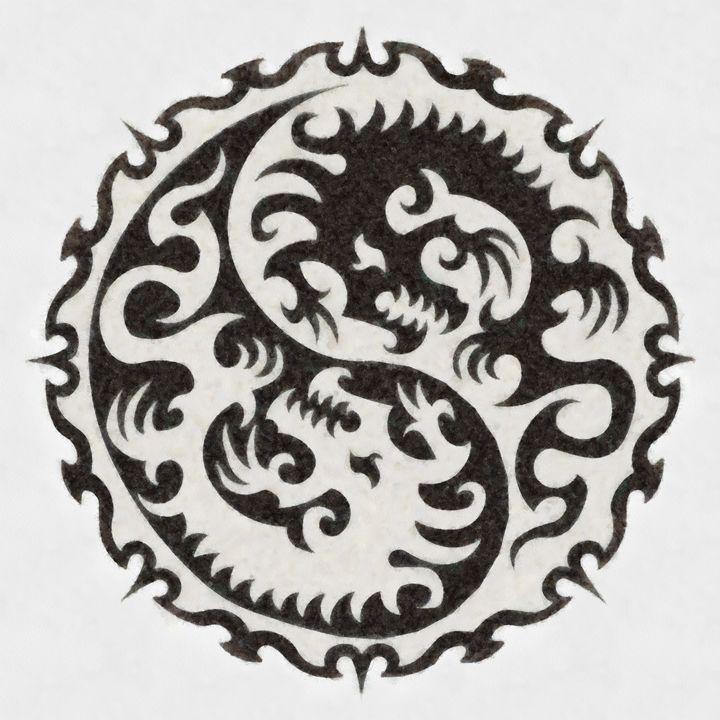 Yin Yang by Pierre Blanchard - Esoterica Art Agency