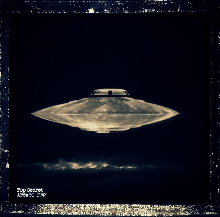 Top Secret Area 51 by RT - Esoterica Art Agency