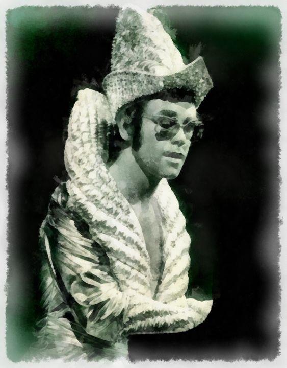 Elton John by John Springfield - Esoterica Art Agency
