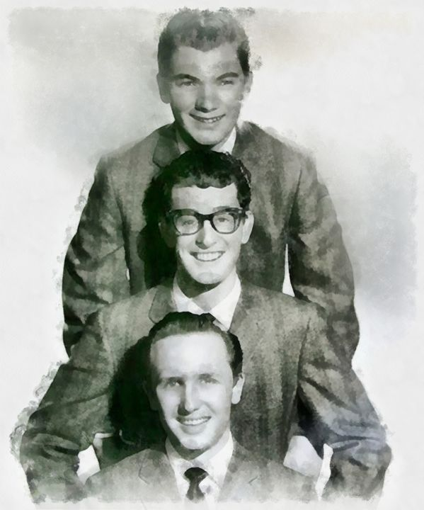 Buddy Holly and the Crickets - Esoterica Art Agency