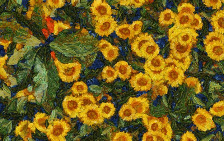 Flowers of Joy by Sarah Kirk - Esoterica Art Agency