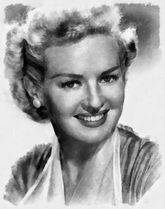 Betty Grable by John Springfield - Esoterica Art Agency