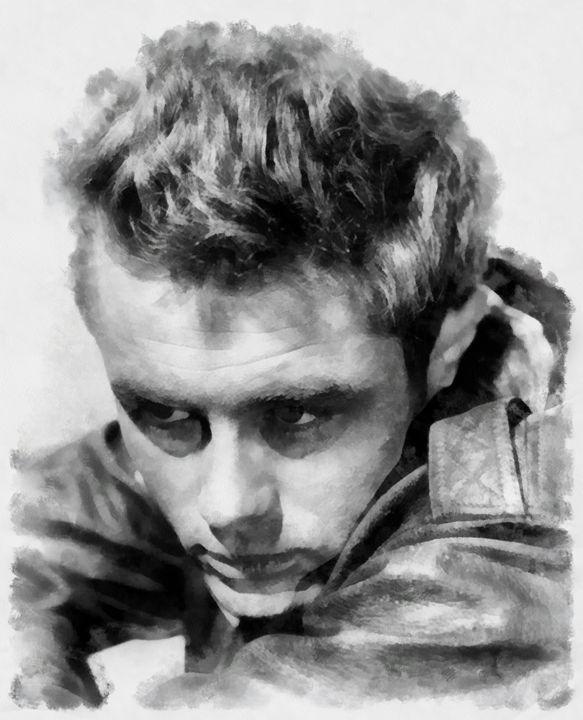 James Dean by John Springfield - Esoterica Art Agency