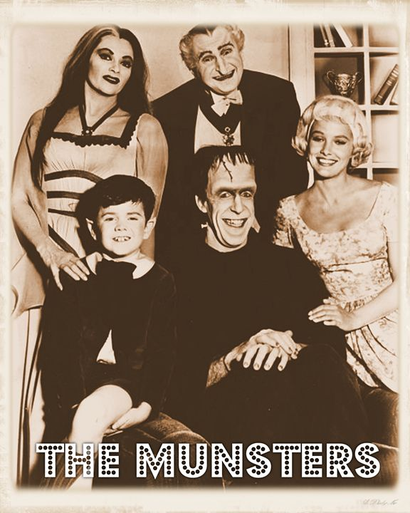 The Munsters - Esoterica Art Agency