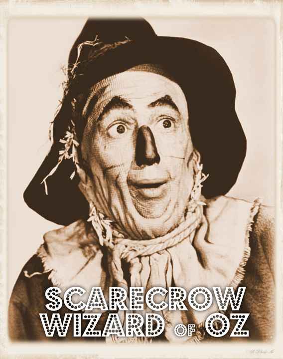 Wizard of Oz Scarecrow - Esoterica Art Agency