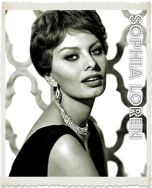 Sophia Loren - Esoterica Art Agency