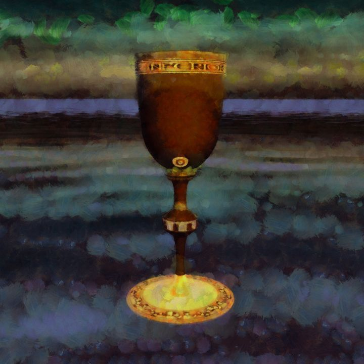 The Holy Grail by Sarah Kirk - Esoterica Art Agency