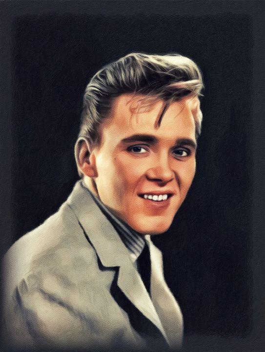 Billy Fury, Music Legend - Esoterica Art Agency