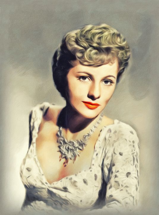 Joan Fontaine, Vintage Actress - Esoterica Art Agency