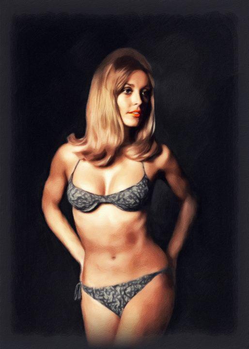Sharon Tate, Vintage Actress - Esoterica Art Agency