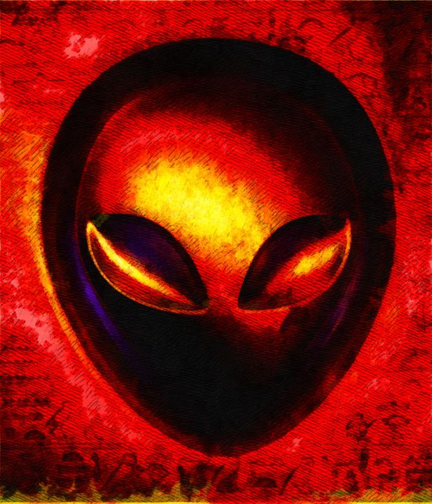 Alien Memory by Raphael Terra - Esoterica Art Agency