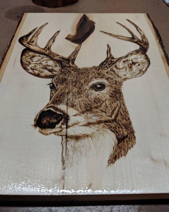 Deer - Burnt Image