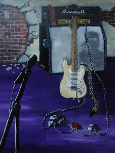 Jimi Hendrix Woodstock salute