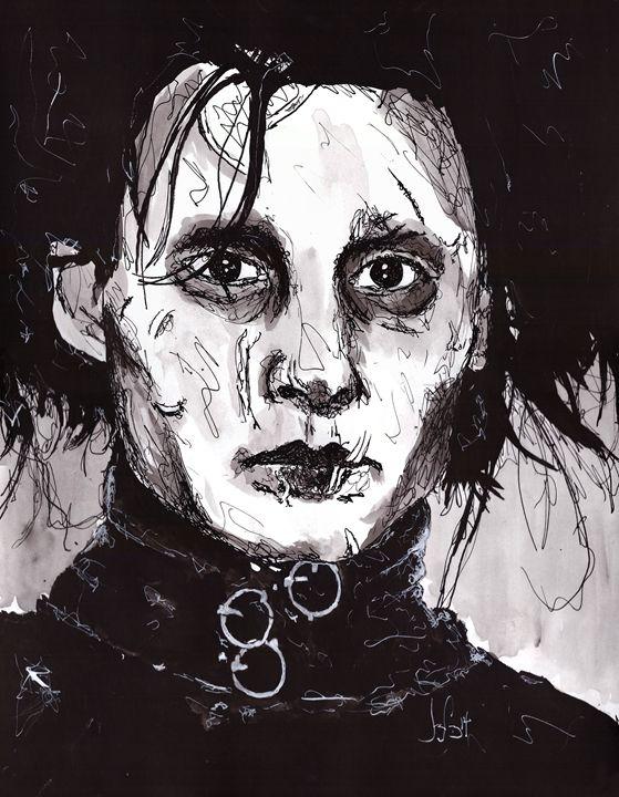 Edward Scissorhands - Bloodless Art