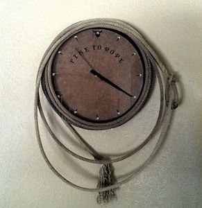 Team roping clock