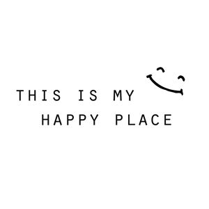 this is my happy place smiley face - CharmedPix