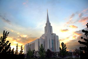 oquirrh mountain utah LDS temple