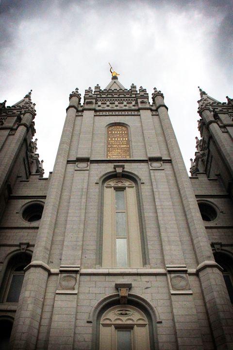 Salt Lake City UT LDS Temple - CharmedPix