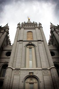 Salt Lake City UT LDS Temple