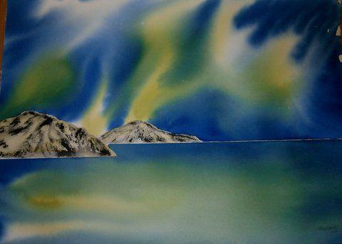 AURORA POLARIS NORTH OF NORWAY - Scandi-Art