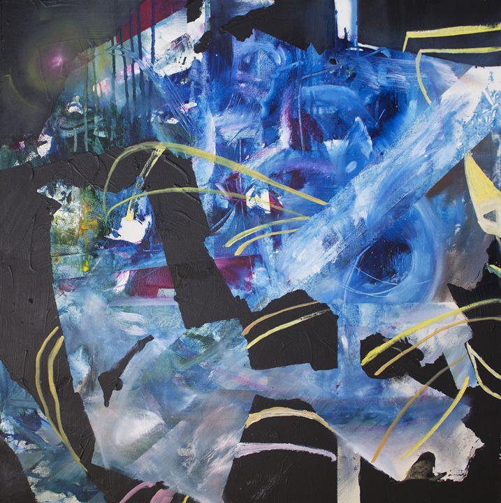 Blue-Black - SEBASTIAN ARANGO ART