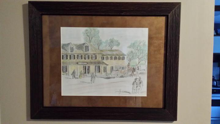 Sherwood Inn early 1800s Skaneateles - Steve Tambroni