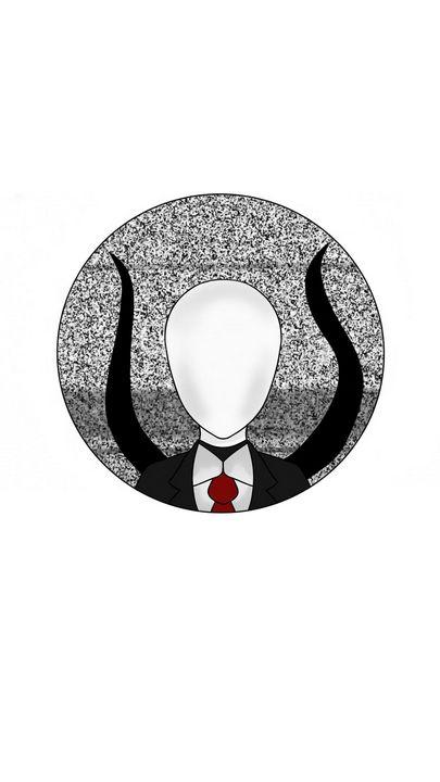 Slenderman Sticker - Peel & Yeet