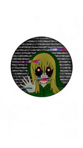 Ben Drowned Sticker