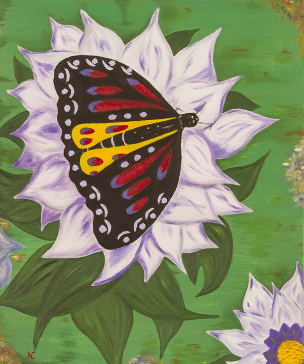 Nectar of Life - Butterfly - Fine Art by Nesli / Neslihan Ergul Colley