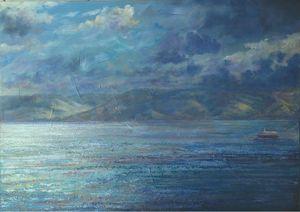 Morning at the Lake of Galilee