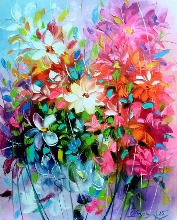 Floral Explosion - Olha Darchuk