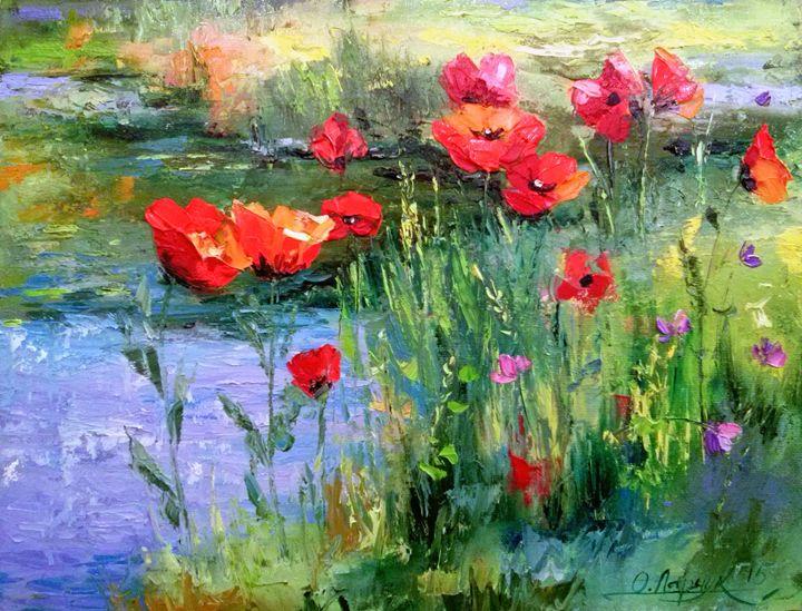 Poppies - Olha Darchuk
