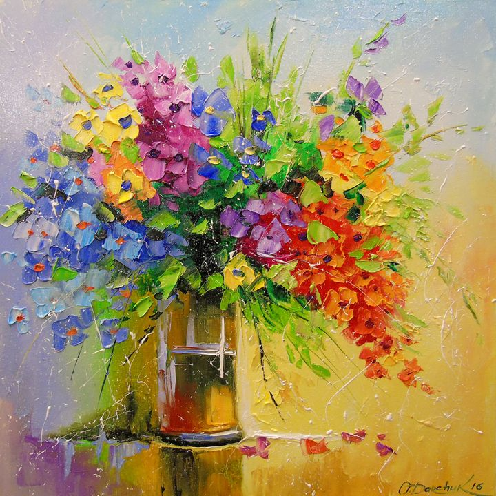 A bouquet of wild flowers - Olha Darchuk