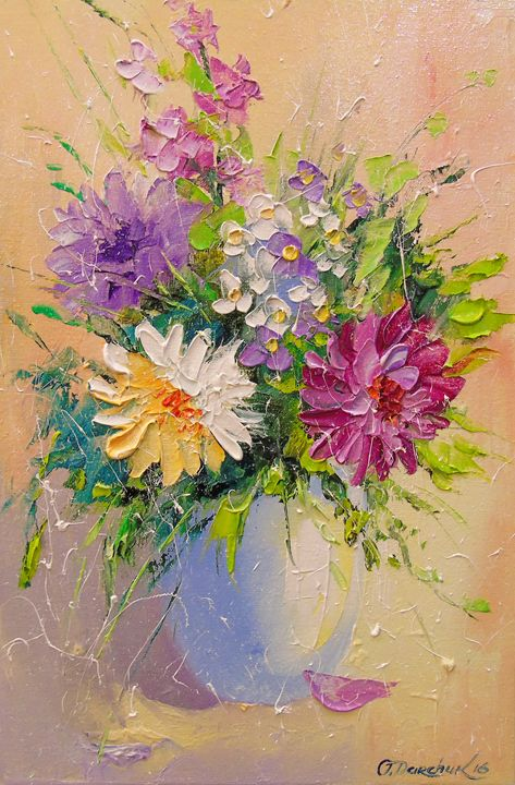 A bouquet of meadow flowers - Olha Darchuk