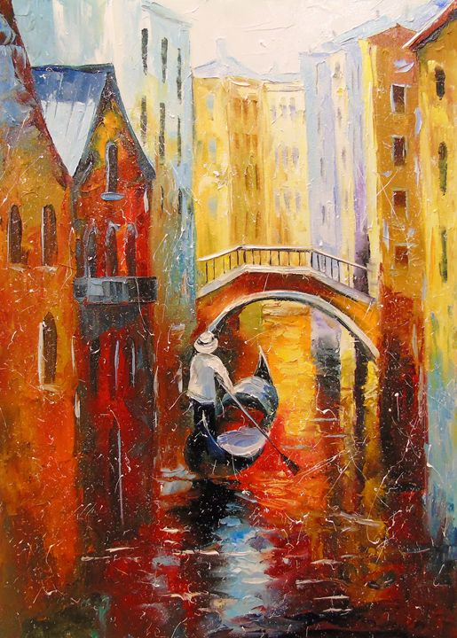 Evening in Venice - Olha Darchuk
