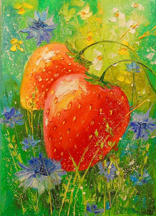 Delicious strawberries - Olha Darchuk