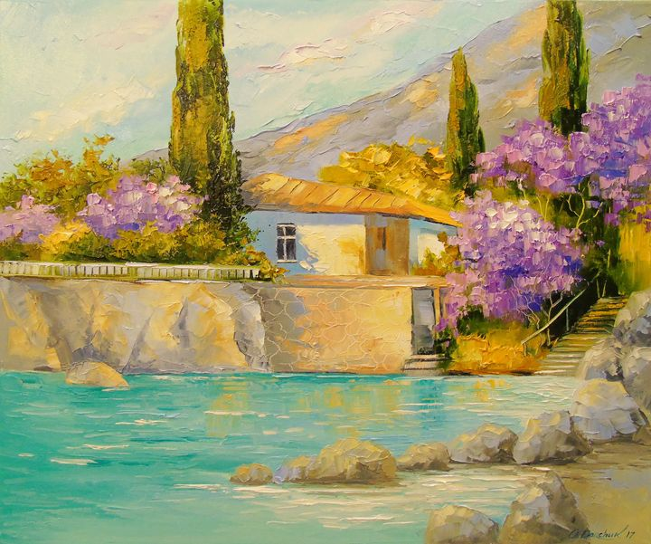 Cottage by the sea - Olha Darchuk
