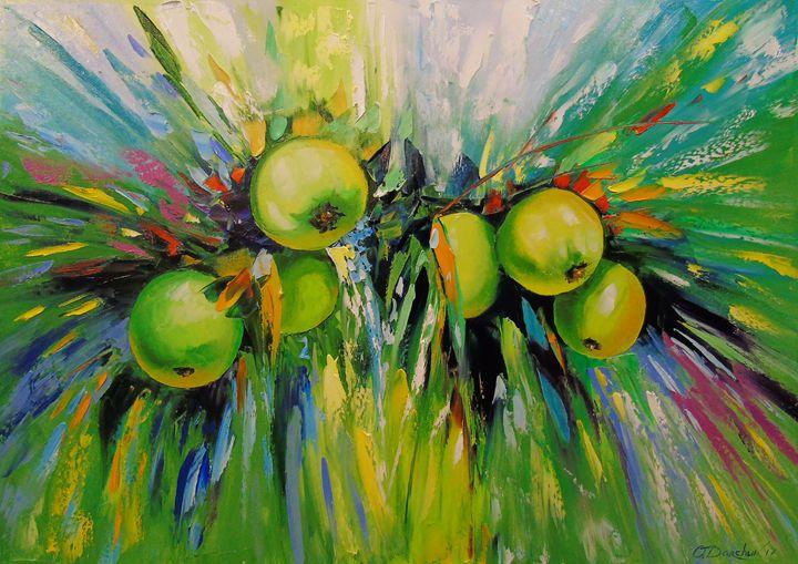 Juicy apples - Olha Darchuk