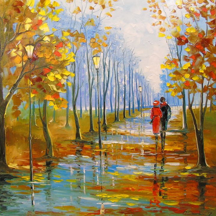 A walk in the Park - Olha Darchuk