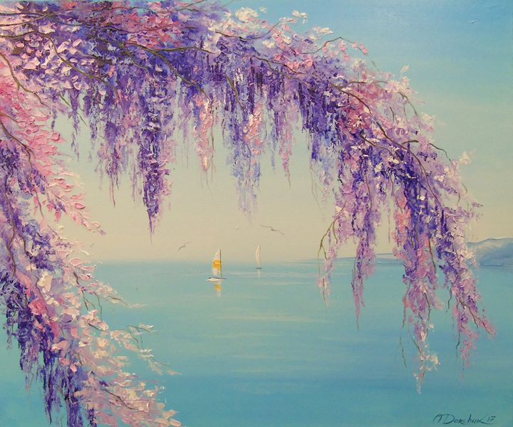 Wisteria by the sea - Olha Darchuk