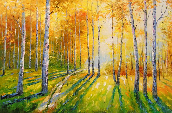 In a birch forest - Olha Darchuk