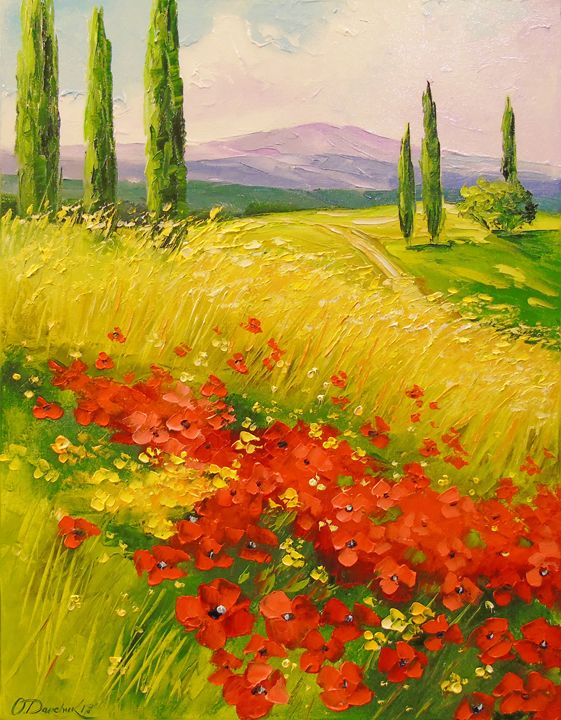 Poppies in a field - Olha Darchuk