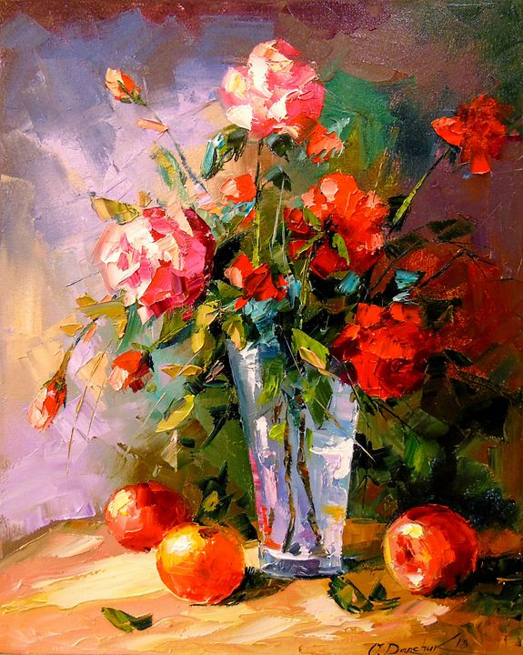 Roses and fruits - Olha Darchuk