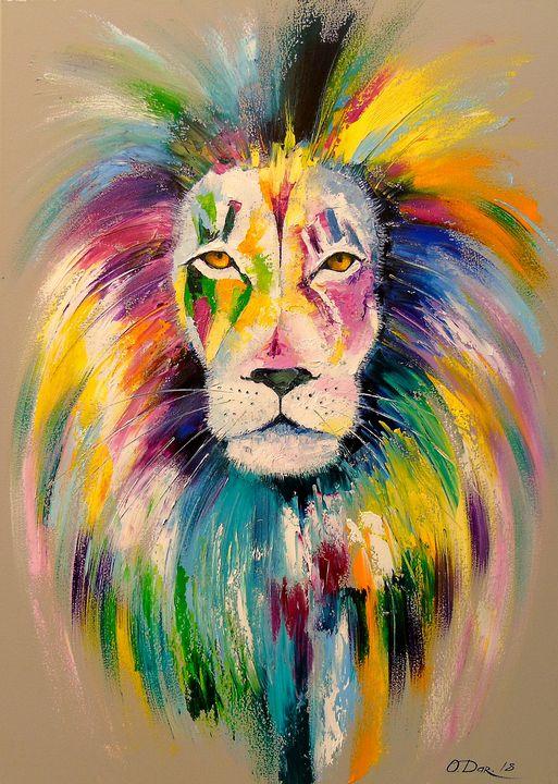 Lion - Olha Darchuk