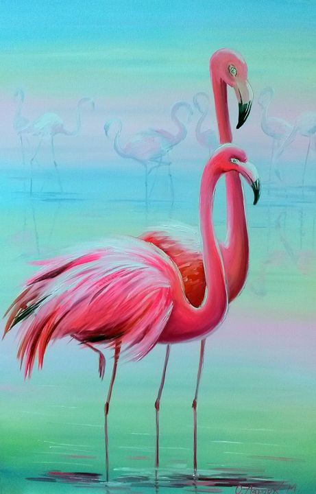 Flamingos - Olha Darchuk