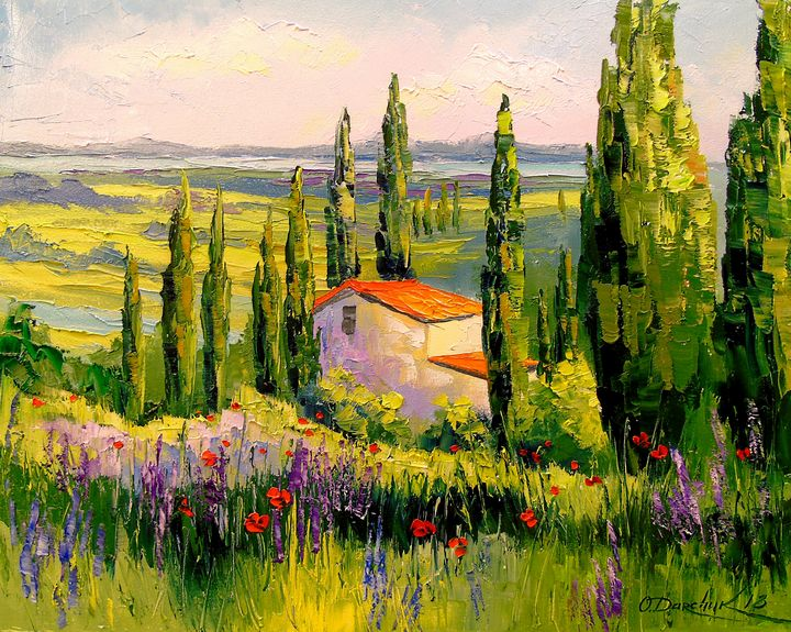 House in Provence - Olha Darchuk