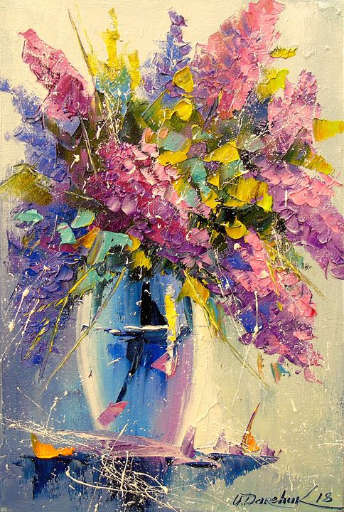 A bouquet of lilac - Olha Darchuk
