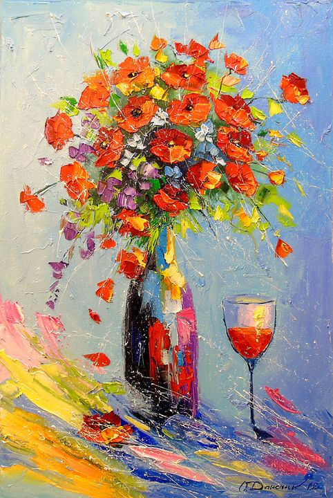 Holiday with a bouquet - Olha Darchuk